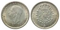 2 Kronen 1946 TS,  Schweden, Gustaf V., 1907-1950, vz-st  19,00 EUR  zzgl. 6,40 EUR Versand