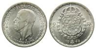 2 Kronen 1949 TS,  Schweden, Gustaf V., 1907-1950, vz-st  19,00 EUR  zzgl. 6,40 EUR Versand