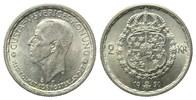 2 Kronen 1950 TS,  Schweden, Gustaf V., 1907-1950, vz-st  19,00 EUR  zzgl. 6,40 EUR Versand