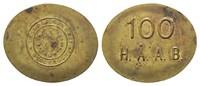 Token o.J. zu 100 H.A.A.B. der Firma Sporrong & Co  Schweden, Stockholm... 52,00 EUR  zzgl. 6,40 EUR Versand