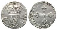 1/4 Ecu 1586 Frankreich, Heinrich III, 1574-1589, ss  110,00 EUR  zzgl. 6,40 EUR Versand