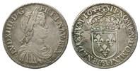 1/2 Ecu à la mèche courte 1644 A Frankreich, Ludwig XIV., 1643-1715, f.... 125,00 EUR  zzgl. 6,40 EUR Versand