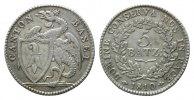 5 Batzen 1810,  Schweiz, Basel, Kanton, ss  79,00 EUR  zzgl. 6,40 EUR Versand