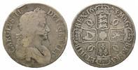 Crown 1673,  Großbritannien, Charles II., 1660-1685, s-ss  175,00 EUR  zzgl. 6,40 EUR Versand