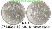 Egypt Ägypten 5 Piaster *35 KM326 Qualität RAR . 271.0341.12