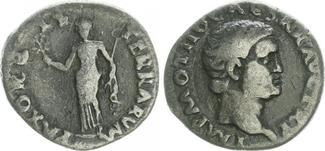 Denar, Silber 69 Antike / Römische Kaiserz...
