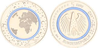 5 Euro Planet Erde 2016 G Bundesrepublik D...