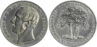 Taler 1865 Hannover Hannover Taler 1865 Ge...