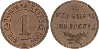 1 Pfennig 1894 A Kolonien / Neuguinea Deut...