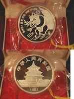 10 Yuan 1991 China China 10 Yuan Panda, 19...