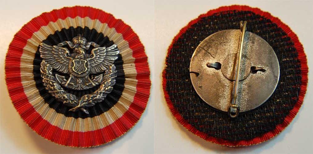 Kolonien Abzeichen der Vereinigung ehemaliger Seesoldaten Berlin Deut