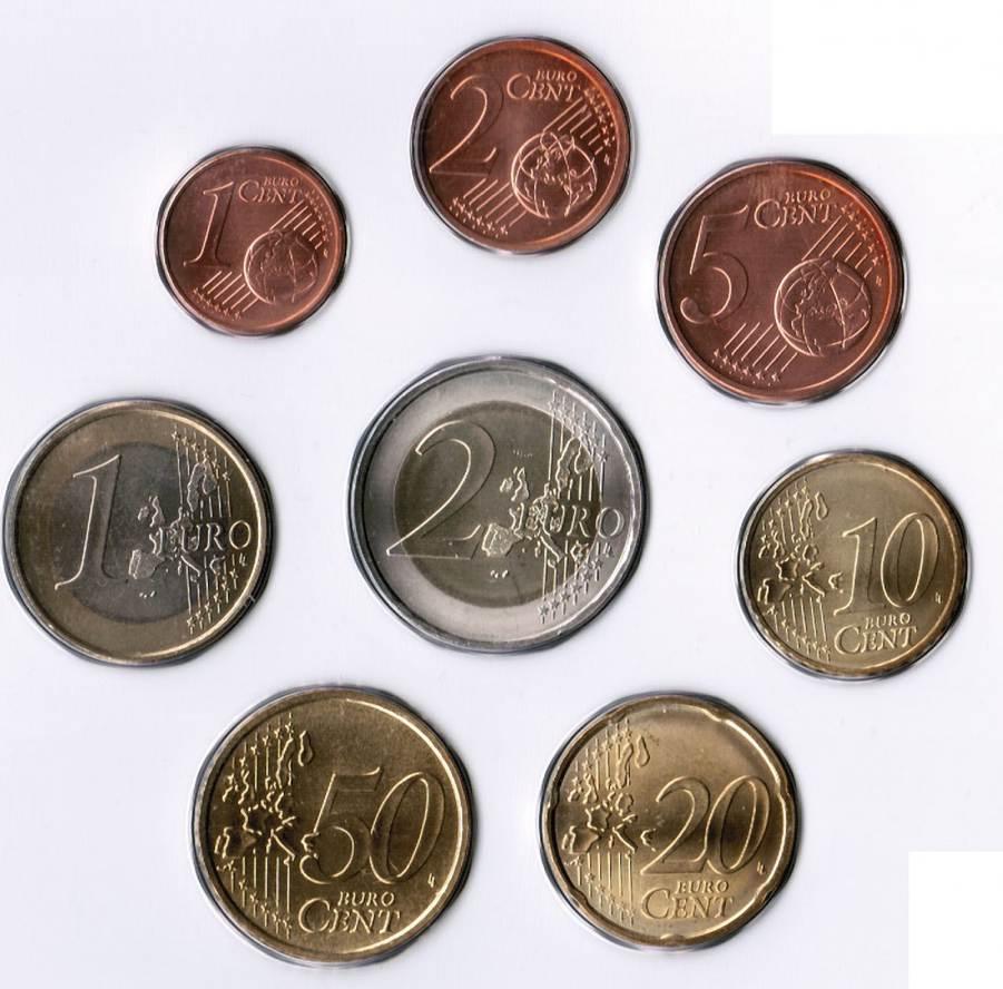 1 cent bis 2 euro 2010 vatikan vatikan kursm nzen 1 cent. Black Bedroom Furniture Sets. Home Design Ideas