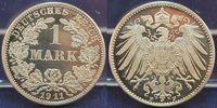 1 Mark 1911 F Deutschland / Kaiserreich Kaiserreich 1 Mark Kursmünze J.... 590,00 EUR  +  8,95 EUR shipping