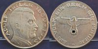 Silberfarbene Medaille (70iger Jahre) (1945) 3. Reich / Nationalsoziali... 40,00 EUR  +  7,50 EUR shipping