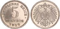 5 Pfennig Eisen 1917 E Deutschland / Ersatzmünzen 5 Pfennig Eisen Ersat... 150,00 EUR  +  7,50 EUR shipping