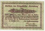 Kriegsmarine 1 Mark Gutschein Hindenburg 25.Febr. 1919 Kaiserreich Kais... 60,00 EUR  zzgl. 4,50 EUR Versand