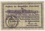 Kriegsmarine 50 Pfennig Gutschein Hindenburg 25.Febr. 1919 Kaiserreich ... 60,00 EUR  zzgl. 4,50 EUR Versand