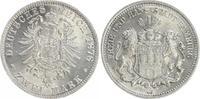 2 Mark 1878 J Kaiserreich / Hamburg Kaiserreich Hamburg 2 Mark kleiner ... 750,00 EUR  zzgl. 4,95 EUR Versand