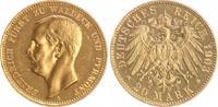 20 Mark Gold Waldeck, mit Echtheitszertifi...
