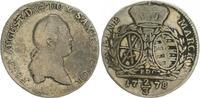 2/3 Taler 1778 1778 Sachsen Sachen 2/3 Taler 1778 Frid. August fast ss ... 38,00 EUR  +  7,50 EUR shipping