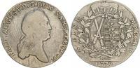 1 Taler 1779 1779 Sachsen Sachen 1 Taler 1779 Frid. August  ss ss  70,00 EUR  +  7,50 EUR shipping