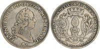 1 Taler 1765 1765 Augsburg Augsburg 1 Taler 1765 ss ss  250,00 EUR  +  7,50 EUR shipping