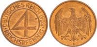 4 Pfennig 1932 E Weimar Weimar, J.315 4 Reichspfennig 1932 E  fast Stem... 40,00 EUR  +  7,50 EUR shipping