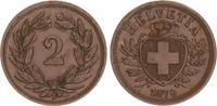 2 Rappen 1870 1870 Schweiz Schweiz 2 Rappen 1870 vz vz  60,00 EUR  +  7,50 EUR shipping
