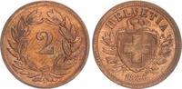 2 Rappen 1866 1866 Schweiz Schweiz 2 Rappen 1866 ss-vz ss-vz  25,00 EUR  +  7,50 EUR shipping