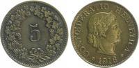 5 Rappen 1918 1918 Schweiz Schweiz 5 Rappen 1918, Messing,  prfr. präge... 35,00 EUR  +  7,50 EUR shipping