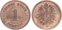 1 Pfennig 1889 E Kaiserreich 1 Pfennig 1889 E   min.fleckig, fast Steme... 40,00 EUR  +  7,50 EUR shipping