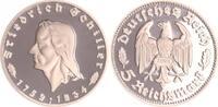 5 Reichsmark Schiller offizielle Neuprägung 1934 Deutschland / Weimar W... 40,00 EUR  +  7,50 EUR shipping