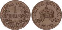 1 Heller 1908 J Kolonien Deutsch-Ostafrika Deutsch-Ostafrika 1 Heller 1... 75,00 EUR  +  7,50 EUR shipping