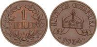 1 Heller 1904A Kolonien Deutsch-Ostafrika Deutsch-Ostafrika 1 Heller 19... 75,00 EUR  +  7,50 EUR shipping