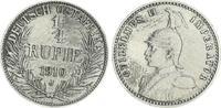 1/4. Rupie 1910 J Kolonien Deutsch-Ostafrika Deutsch-Ostafrika 1/4. Rup... 40,00 EUR  +  7,50 EUR shipping