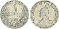 1/4. Rupie 1913 J Kolonien Deutsch-Ostafrika Deutsch-Ostafrika 1/4. Rup... 50,00 EUR  +  7,50 EUR shipping