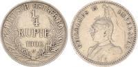 1/4. Rupie 1906 J Kolonien Deutsch-Ostafrika Deutsch-Ostafrika 1/4. Rup... 65,00 EUR  +  7,50 EUR shipping