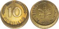 10 Pfennig dezentriert 1969 D Deutschland BRD 10 Pfennig 1969D Fehlpräg... 45,00 EUR  +  7,50 EUR shipping