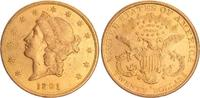 20 Dollar Gold 1891 USA USA 20 Dollar  1891  Double Eagle f.vz f.vz  1250,00 EUR free shipping