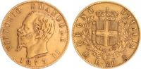20 Lira 1873 Italien Italien Vittorio Emanuele 1873 20 Lira ss  265,00 EUR  +  8,95 EUR shipping