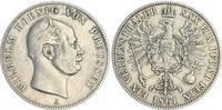 1 Vereinstaler 1861 1861 Preußen Preußen 1 Vereinstaler 1861 Wilhelm ss... 65,00 EUR  +  7,50 EUR shipping