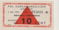 10 Cent Lagergeld 1944 Konzentrationslager / Durchgangslager AMERSFOORT... 295,00 EUR  zzgl. 4,95 EUR Versand