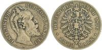 2 Mark 1876 A Deutschland / Kaiserreich / Anhalt Kaiserreich Anhalt  2 ... 195,00 EUR  zzgl. 4,75 EUR Versand