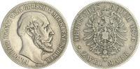2 Mark 1876 A Kaiserreich / Mecklenburg-Schwerin Mecklenburg-Schwerin  ... 210,00 EUR  zzgl. 4,75 EUR Versand