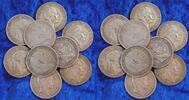 10 x 5 Mark  Deutschland / Kaiserreich / Preußen Preußen Lot 10 x 5 Mar... 250,00 EUR