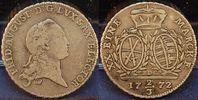 Sachsen, Albertinische Linie 2/3 Taler Sachsen, Albertinische Linie, Friedrich August III., 2/3 Taler 1772, ss