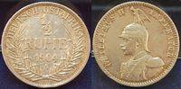 1/2 Rupie 1904A Kolonien Deutsch-Ostafrika Deutsch-Ostafrika 1/2 Rupie ... 95,00 EUR