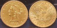 10 Dollar Gold 1892 USA USA 10 Dollar  1892 ss-vz ss-vz  595,00 EUR