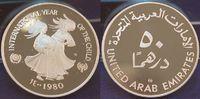 50 Dirham 1980 Vereinigte Arabische Emirate Vereinigte Arabische Emirat... 50,00 EUR