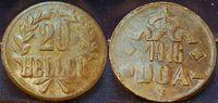 20 Heller 1916 Kolonien / Deutsch-Ostafrika Kolonien Deutsch-Ostafrika ... 35,00 EUR